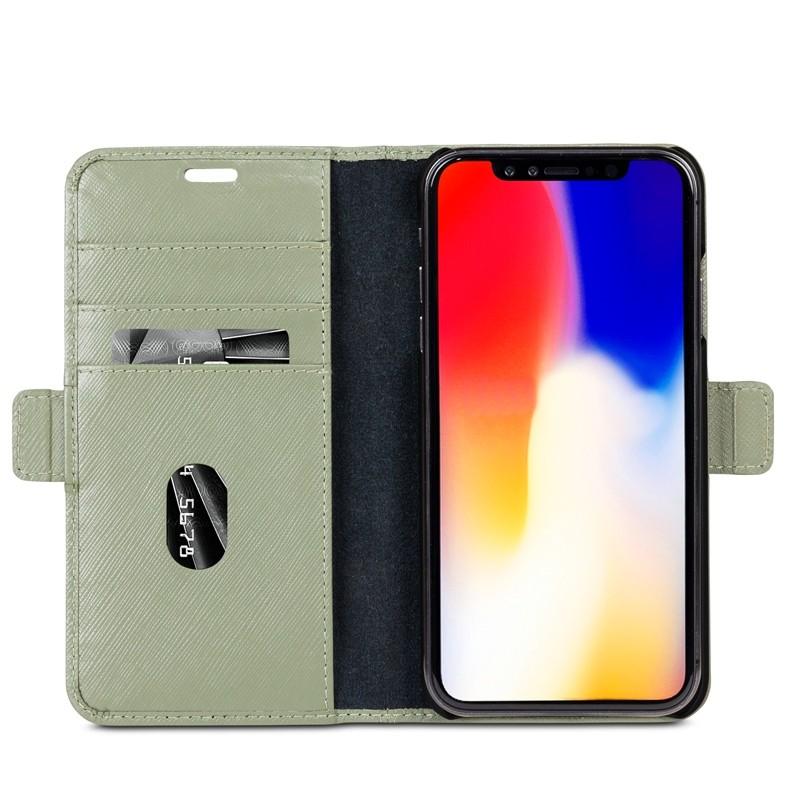 Dbramante1928 Milano iPhone XS Max Hoesje Olijfgroen 03