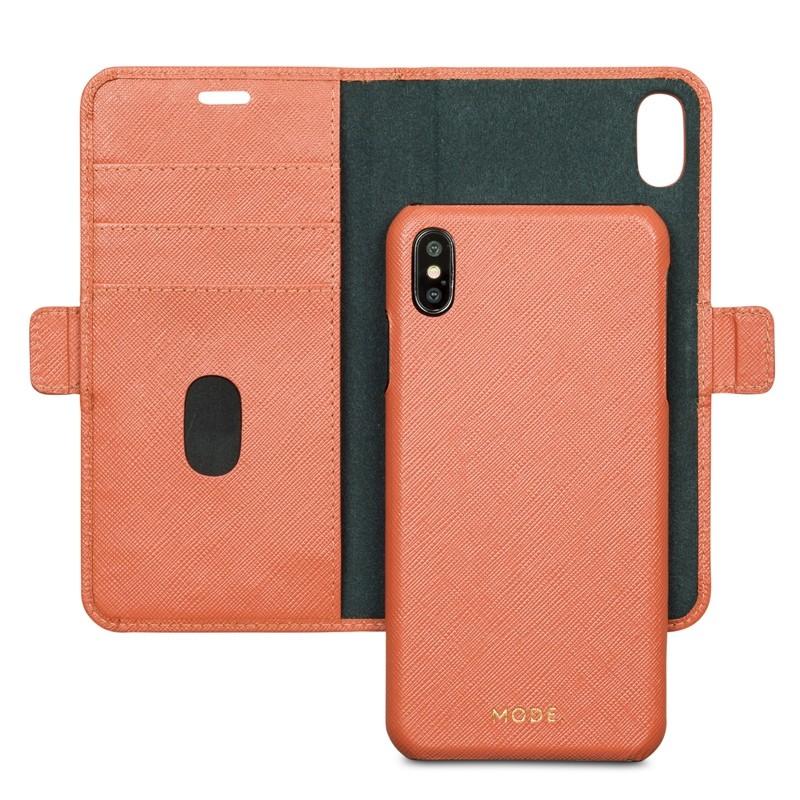 Dbramante New York iPhone XR Mode. Hoesje Rusty Rose 03