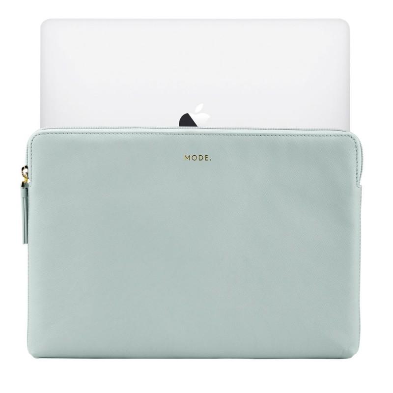 dbramante1928 Paris Sleeve MacBook Pro 13 inch / Air 2018 Misty Mint - 5