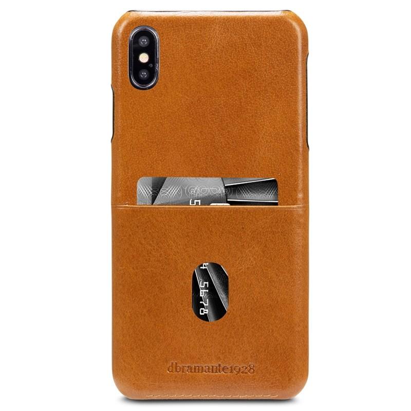 Dbramante1928 Tune CC iPhone XS Max Hoesje Tan Bruin 01