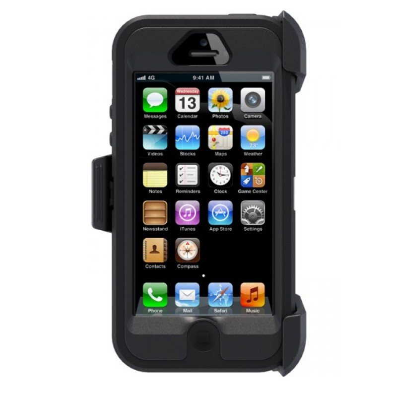 OtterBox Defender iPhone 5/5S Black - 4