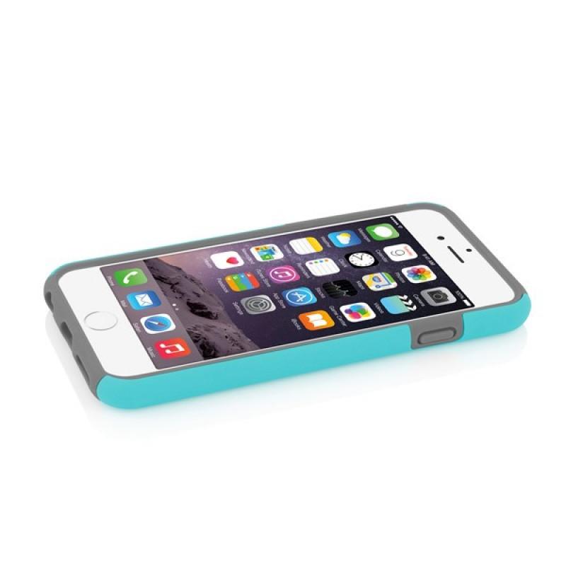 Incipio DualPro Case iPhone 6 Plus Cyan/Grey - 5