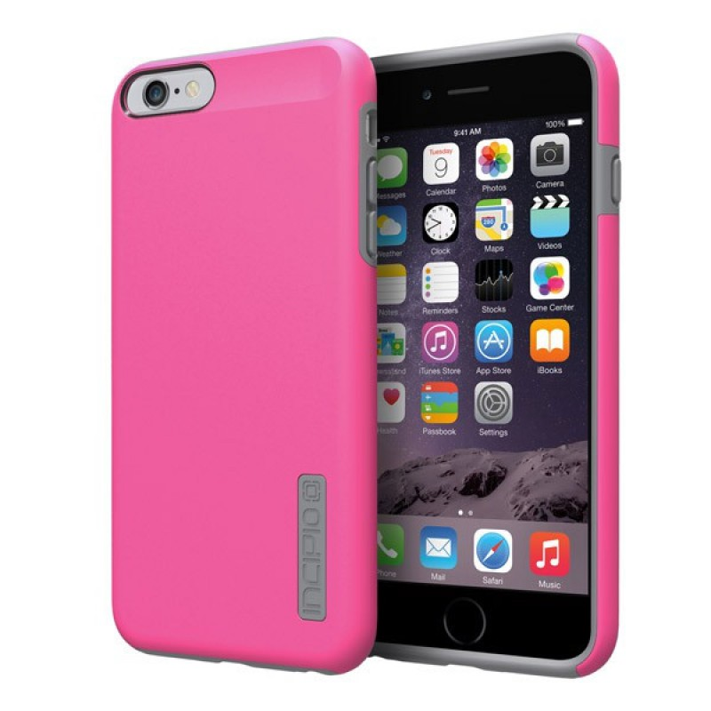 Incipio DualPro Case iPhone 6 Plus Pink/Grey