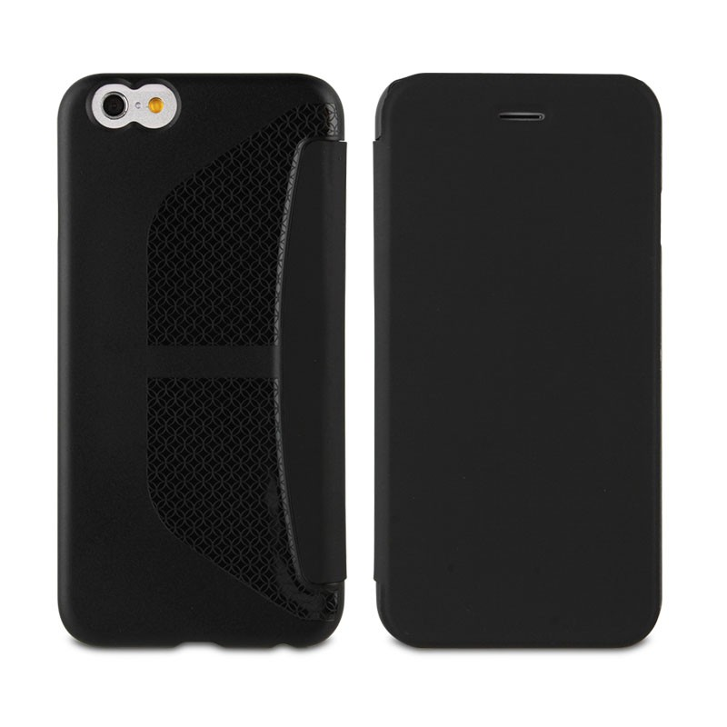 Muvit Easy Folio iPhone 6 Plus Black - 2