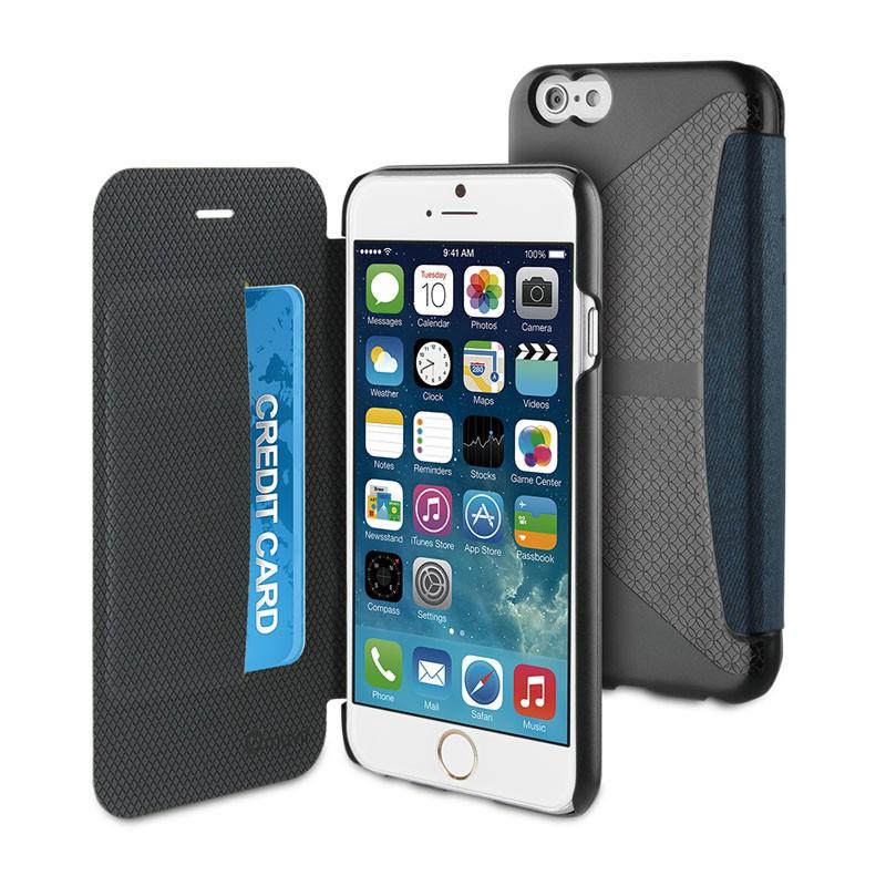 Muvit Easy Folio iPhone 6 Plus Denim Blue - 1