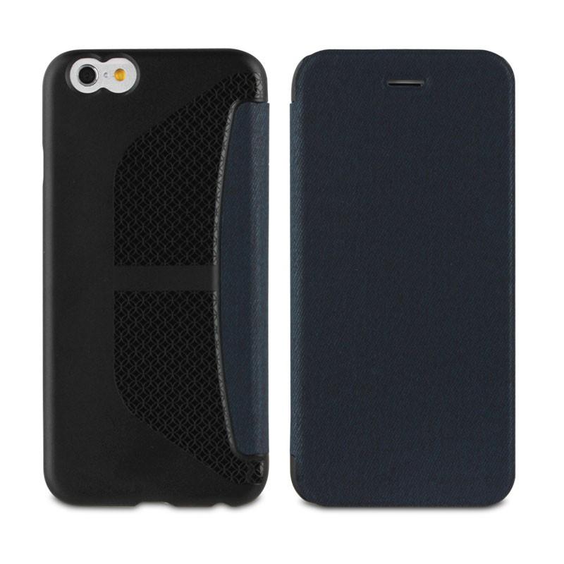 Muvit Easy Folio iPhone 6 Plus Denim Blue - 2