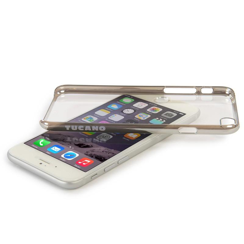 Tucano Elektro iPhone 6 Plus Silver/Clear - 3