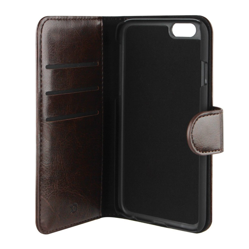 Xqisit Wallet Case Eman iPhone 6 Brown - 1
