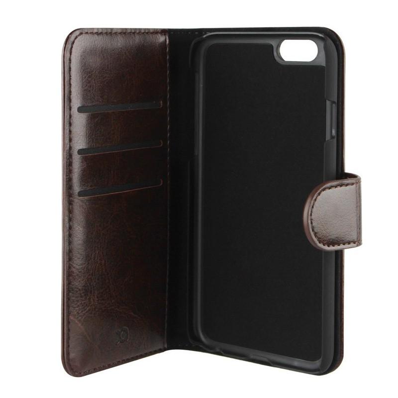 Xqisit Eman Wallet iPhone 6 Plus Brown - 1