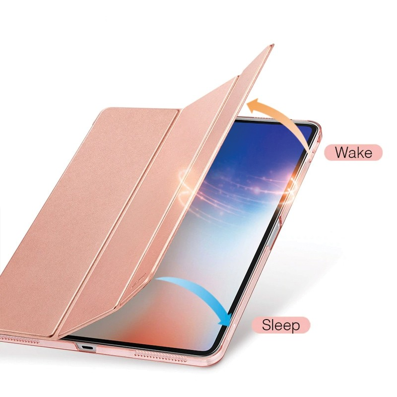 ESR Tri-folio Hoes iPad Pro 12.9 inch (2018) Roze 03