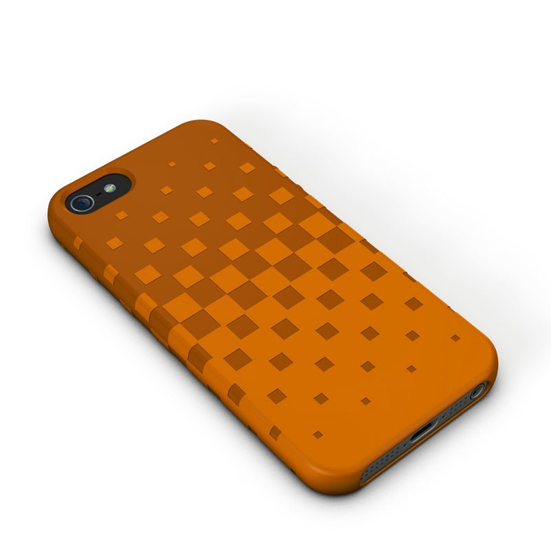 XtremeMac - Tuffwrap iPhone 5 (Orange) 01