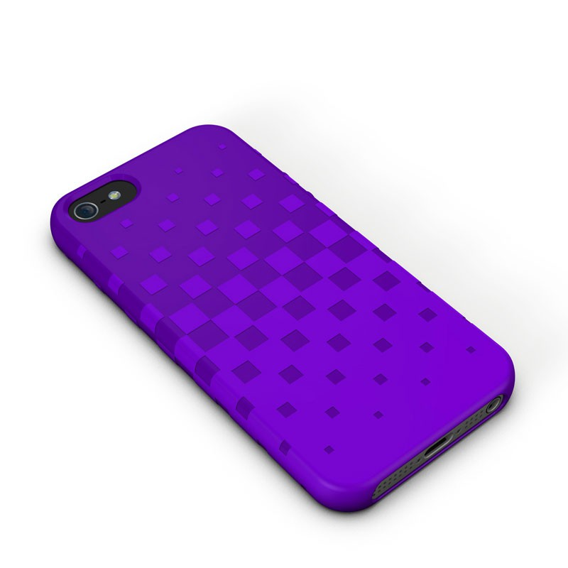 XtremeMac - Tuffwrap iPhone 5 (Purple) 01