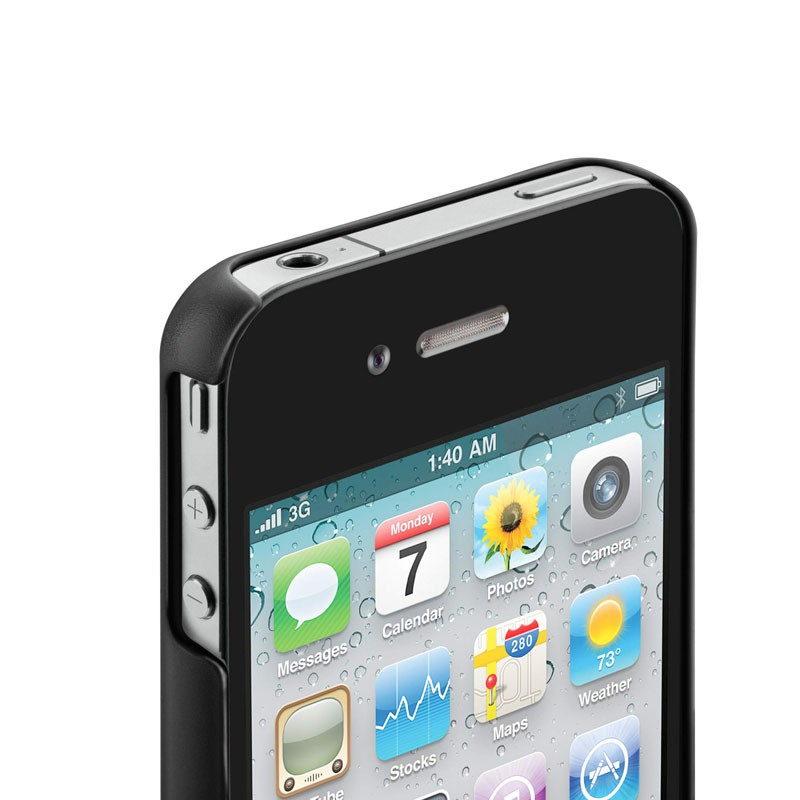 Meta 030 Case iPhone 4(S) Black - 4