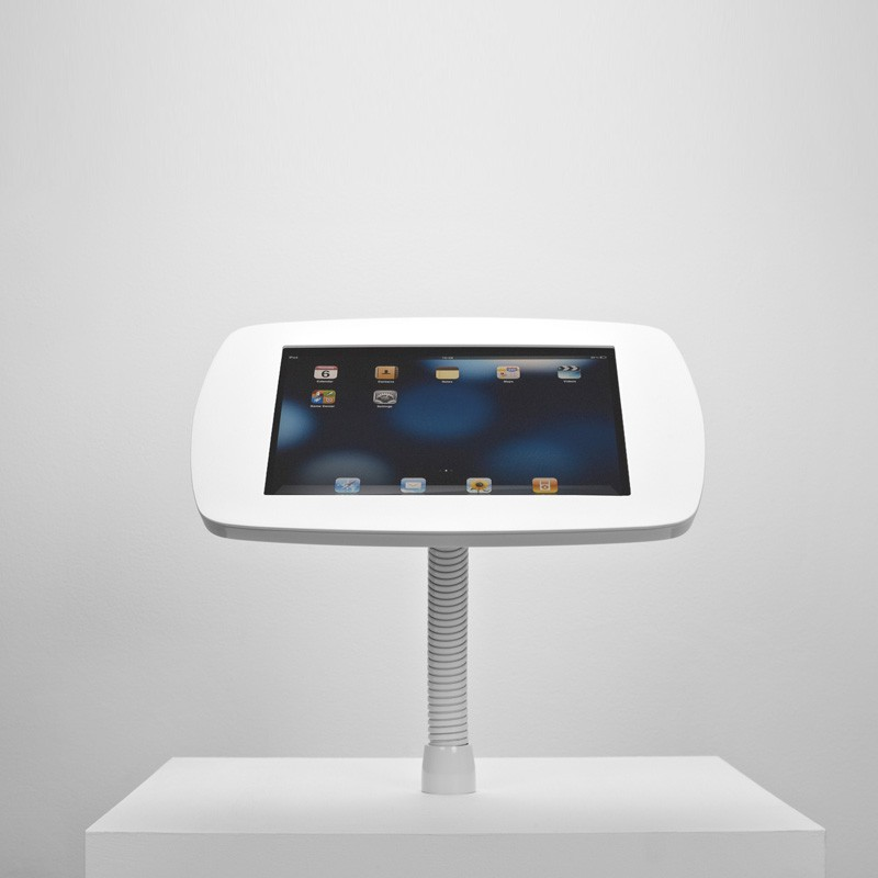 The Bouncepad - Smart, Simple, Secure iPad Stand  -  iPad Gooseneck Mount 03