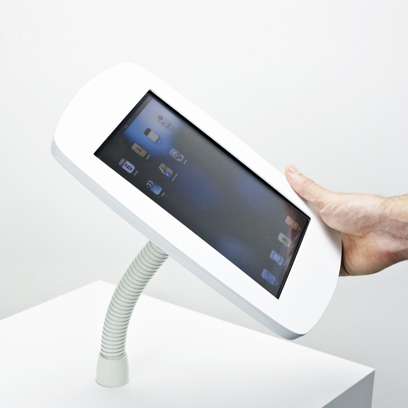 The Bouncepad - Smart, Simple, Secure iPad Stand  -  iPad Gooseneck Mount 05