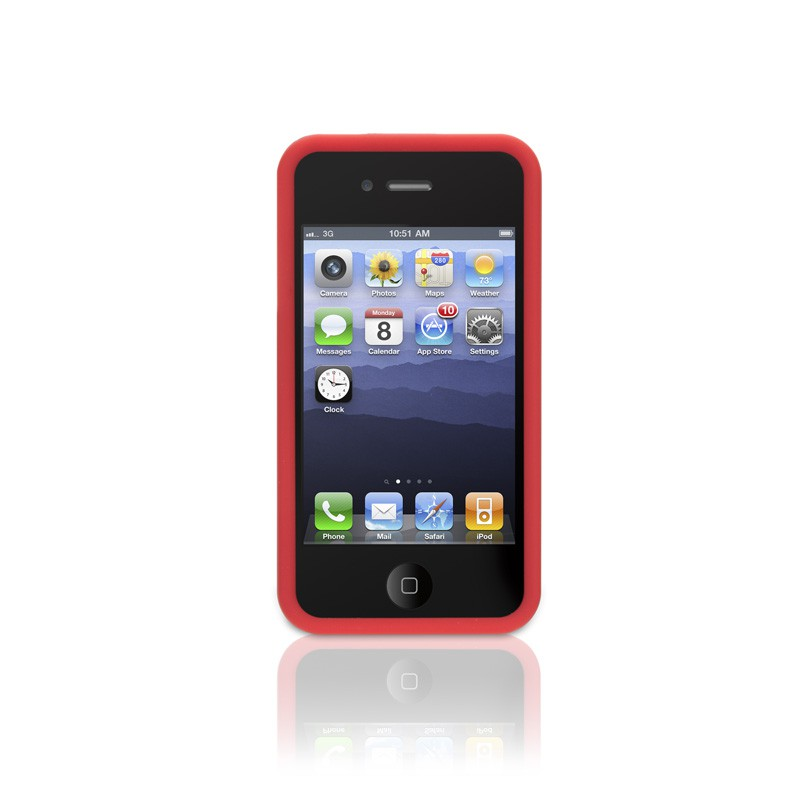 Griffn - Outfit Crackle iPhone 4(S) Red 02