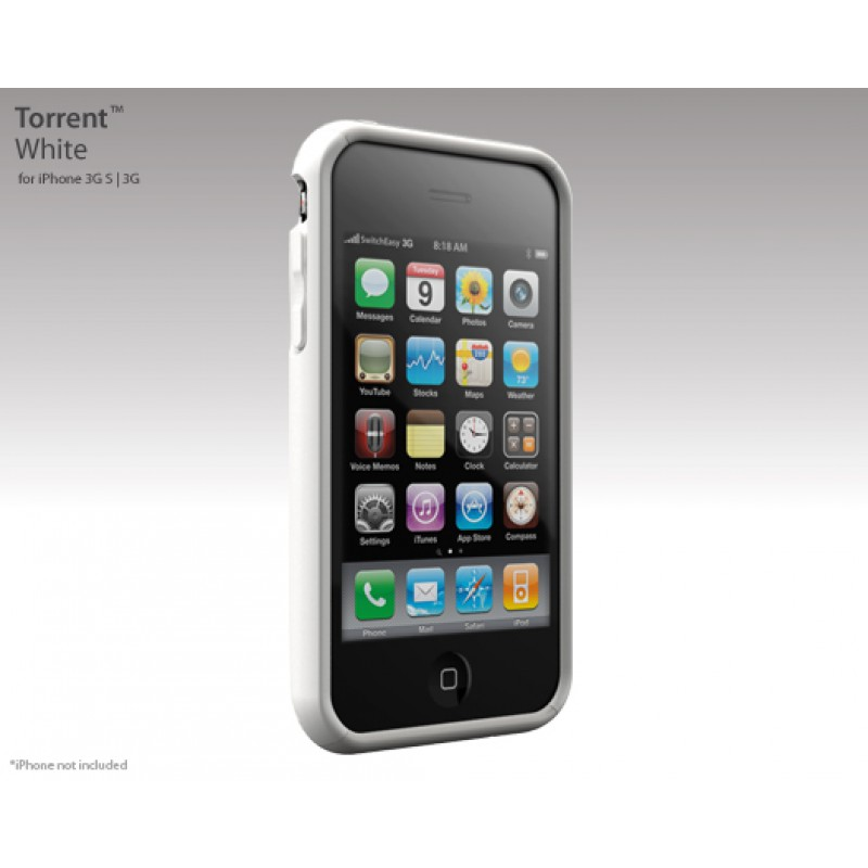 Switcheasy Torrent iPhone Case White - 2