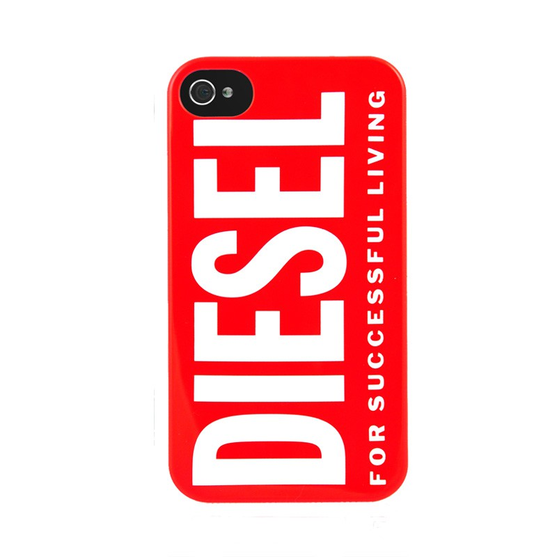 Diesel Snap Cover iPhone 4(S) Red - 1