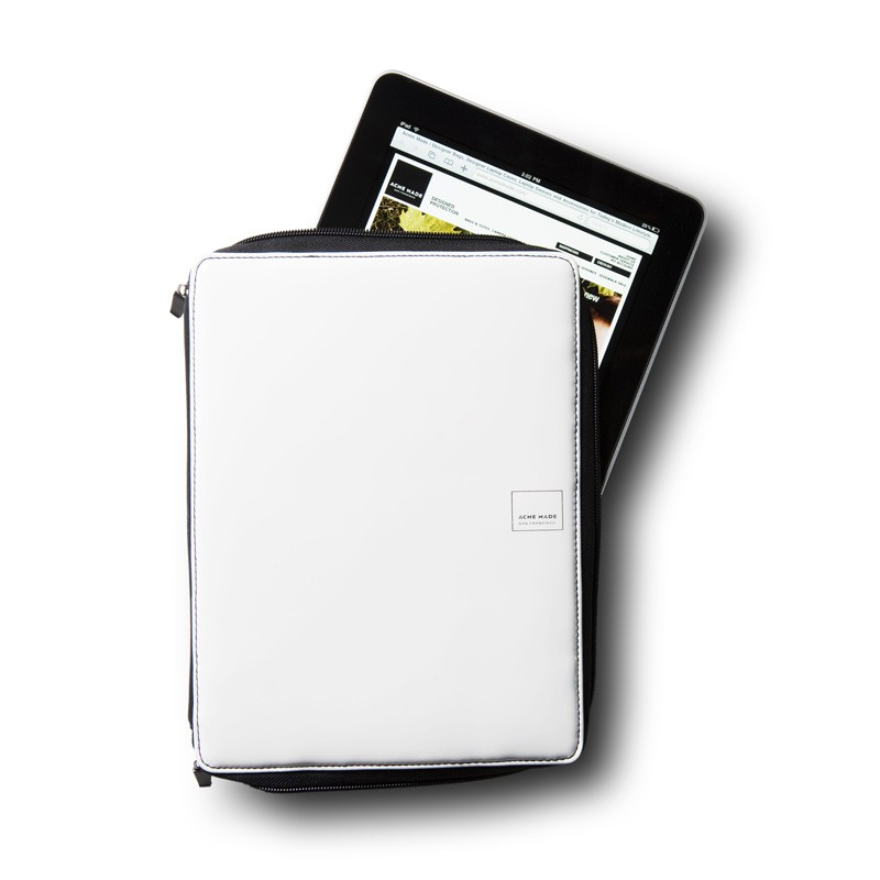 Acme Made Slick Case voor iPad 1 & 2 White 02