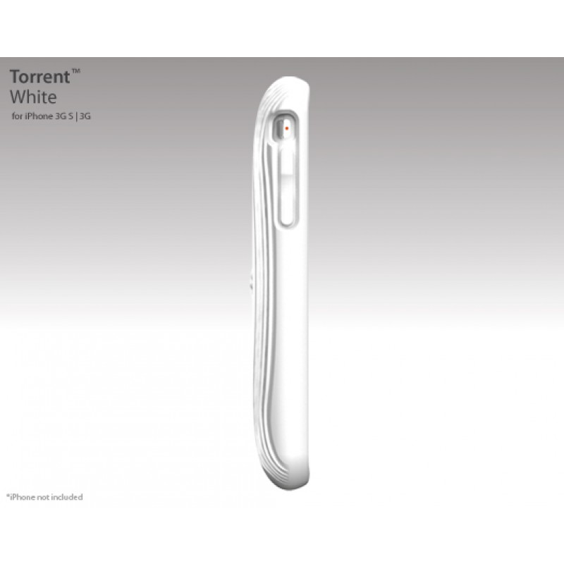 Switcheasy Torrent iPhone Case White - 3