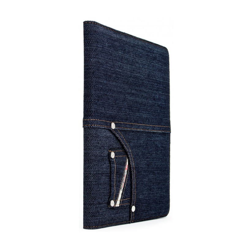 Diesel - Folio Case iPad 2 (Denim Blue Indigo) 03