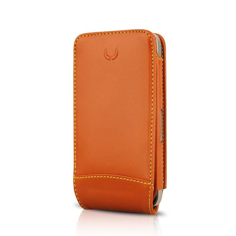 Beyzacases MultiFlip iPhone 4(S) Tan Brown 01
