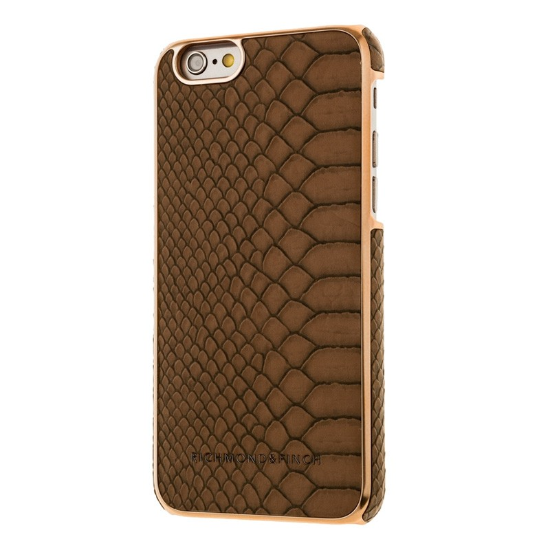 Richmond & Finch Framed Rosé iPhone 6 / 6S Coffee Reptile - 2