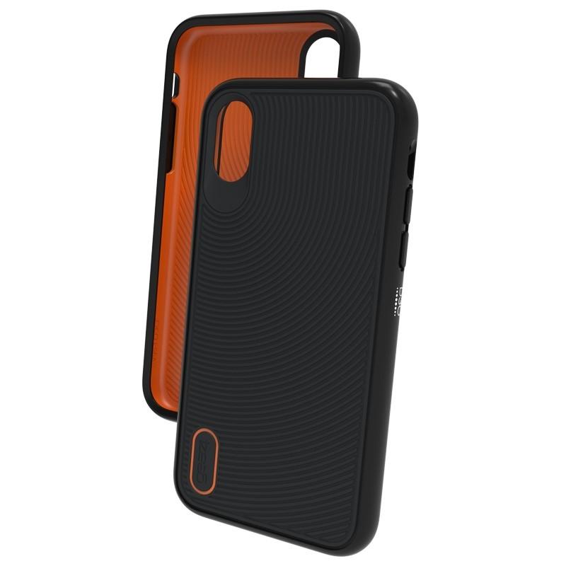 Gear4 Battersea iPhone X/Xs Hoesje Black/Orange 03