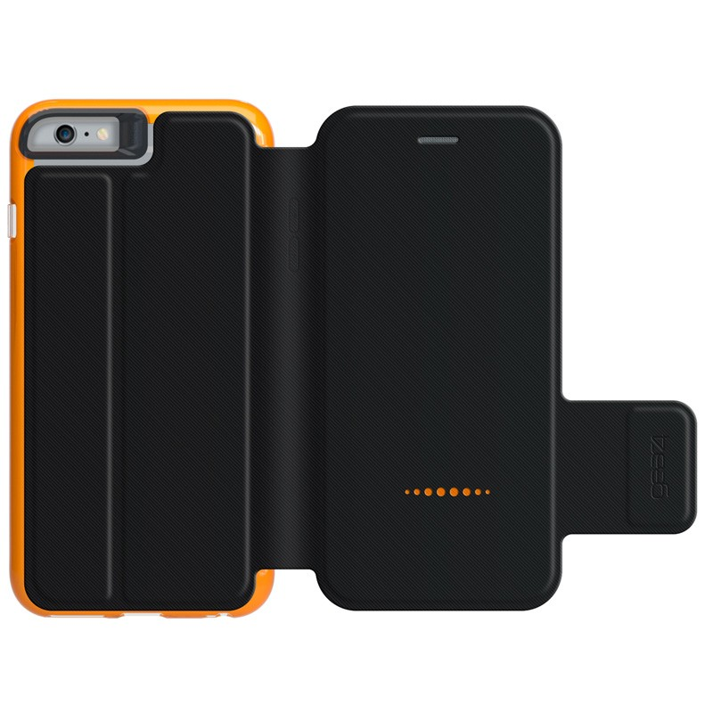 Gear4 3DO BookCase iPhone 6 Plus / 6S Plus Black/Orange - 2