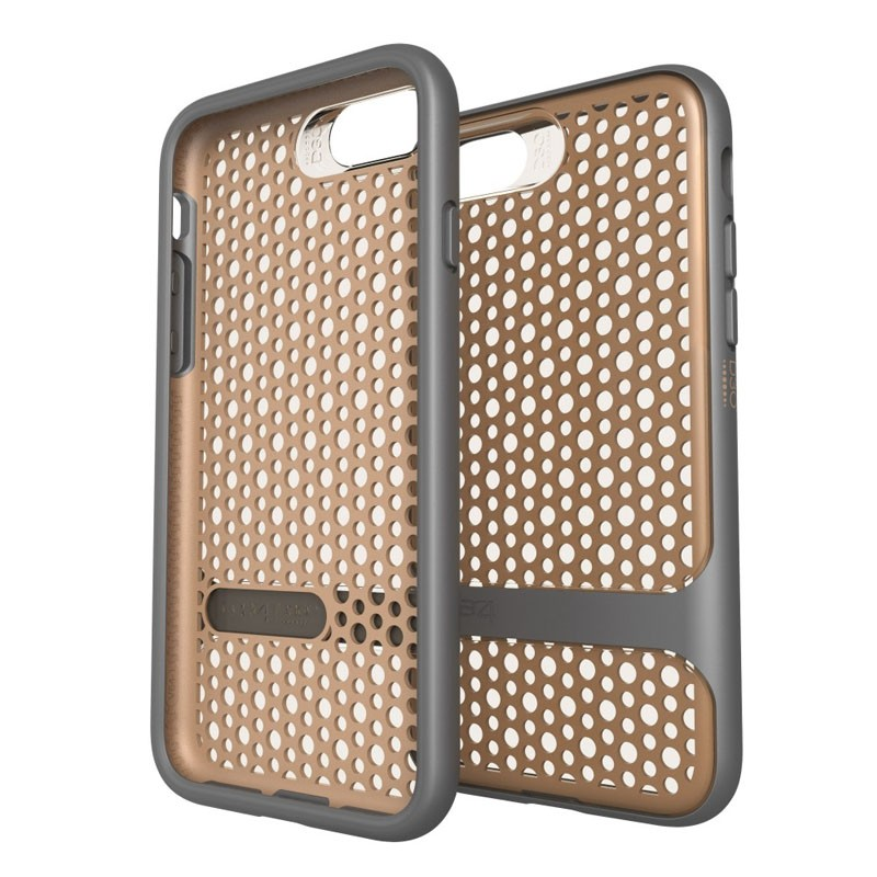 Gear4 Carnaby D3O Case iPhone 7 Gold/Grey - 1