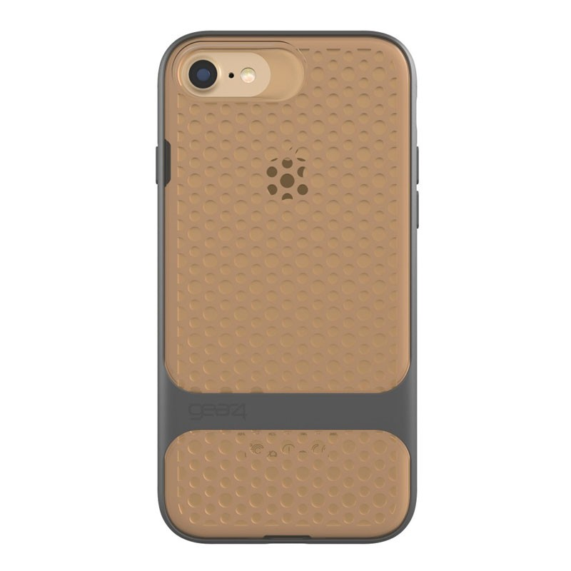 Gear4 Carnaby D3O Case iPhone 7 Gold/Grey - 3