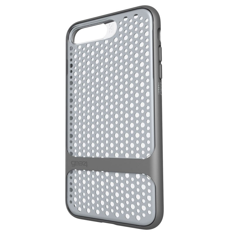 Gear4 Carnaby D3O Case iPhone 7 Plus Silver/Grey - 2