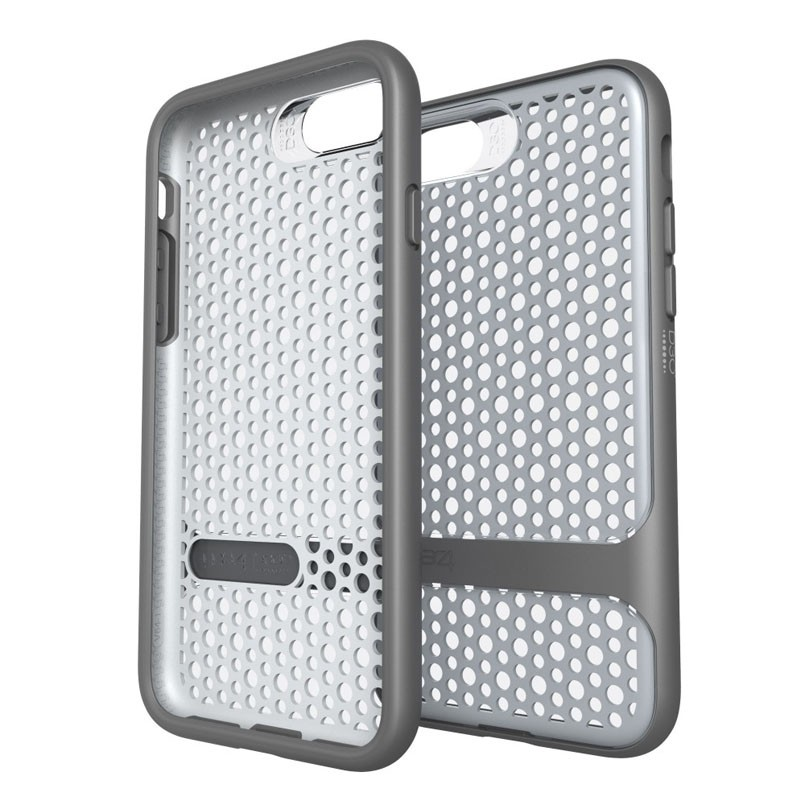Gear4 Carnaby D3O Case iPhone 7 Silver/Grey - 1