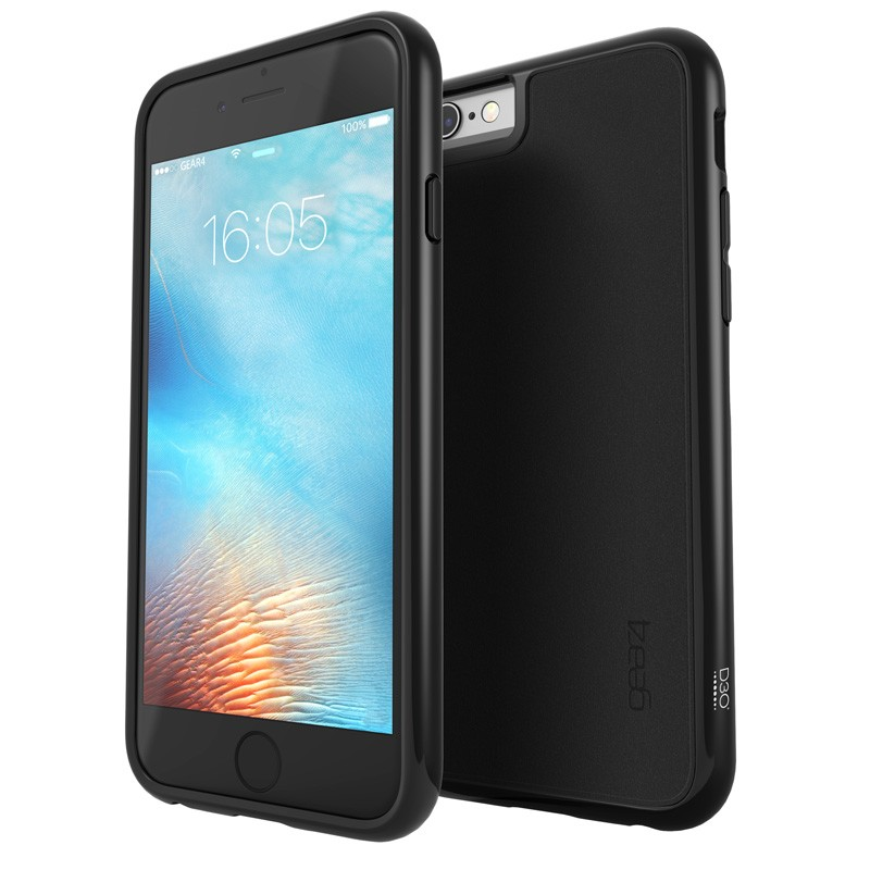 Gear4 3DO IceBox AllBlack iPhone 6 / 6S Black - 1