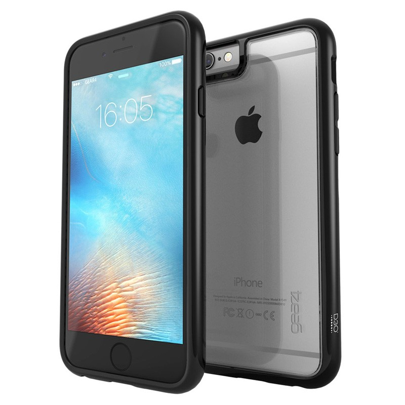 Gear4 3DO IceBox Edge iPhone 6 / 6S Black/Clear - 1