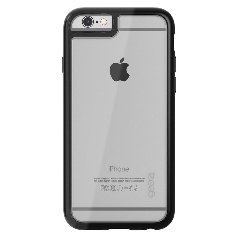 Gear4 3DO IceBox Edge iPhone 6 / 6S Black/Clear - 3