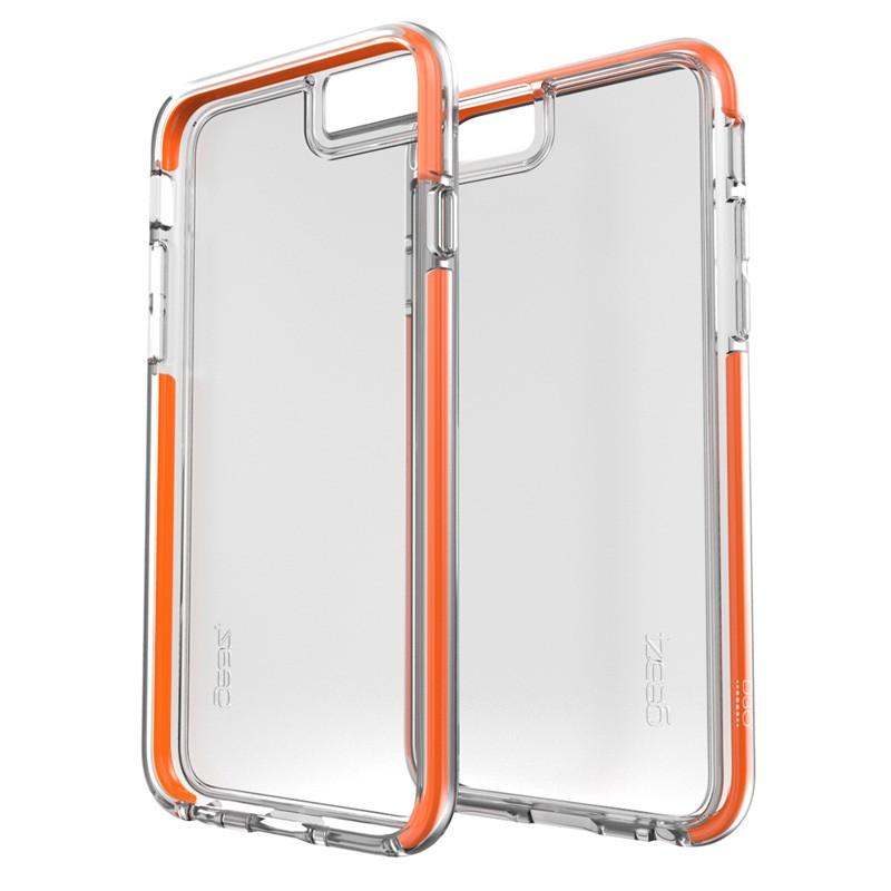 Gear4 3DO IceBox Shock iPhone 6 / 6S Clear/Orange - 2
