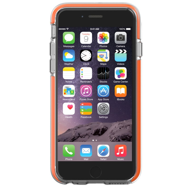 Gear4 3DO IceBox Shock iPhone 6 / 6S Clear/Orange - 4