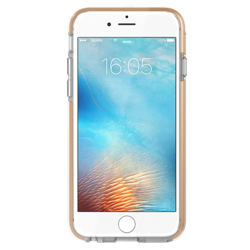 Gear4 3DO IceBox Tone iPhone 6 / 6S Gold/Clear - 4