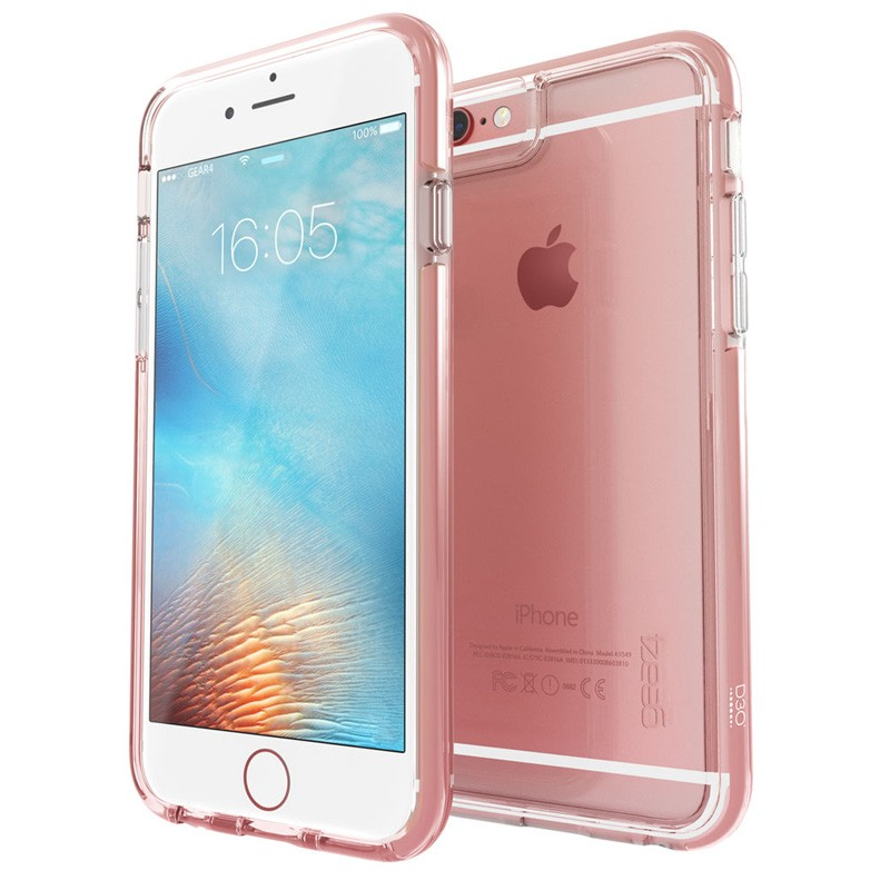 Gear4 3DO IceBox Tone iPhone 6 / 6S Rose Gold/Clear - 1