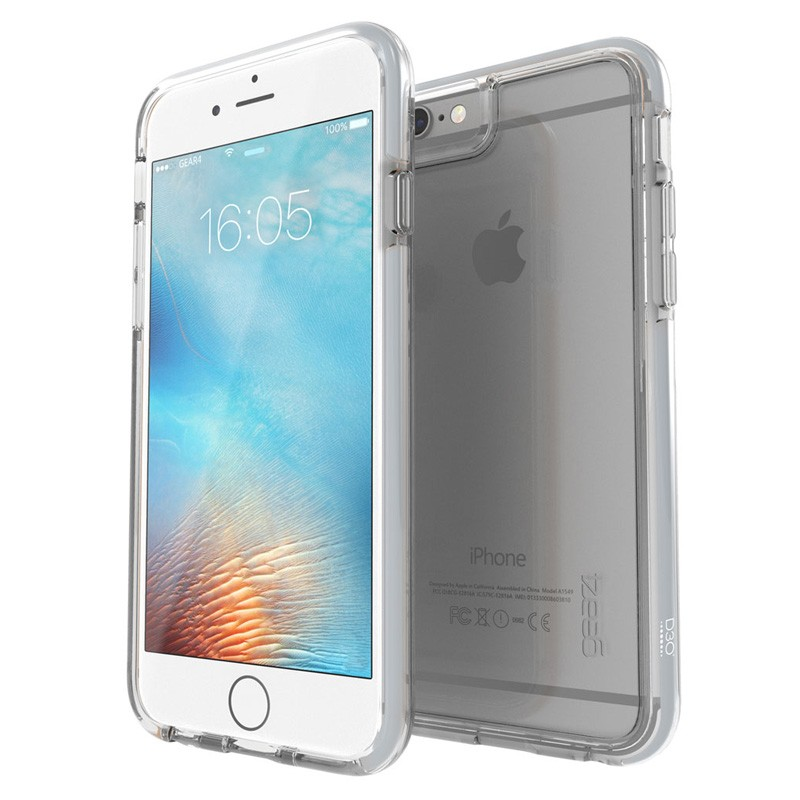 Gear4 3DO IceBox Tone iPhone 6 Plus / 6S Plus Silver/Clear - 1