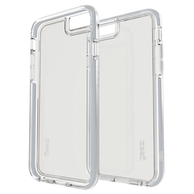Gear4 3DO IceBox Tone iPhone 6 Plus / 6S Plus Silver/Clear - 2