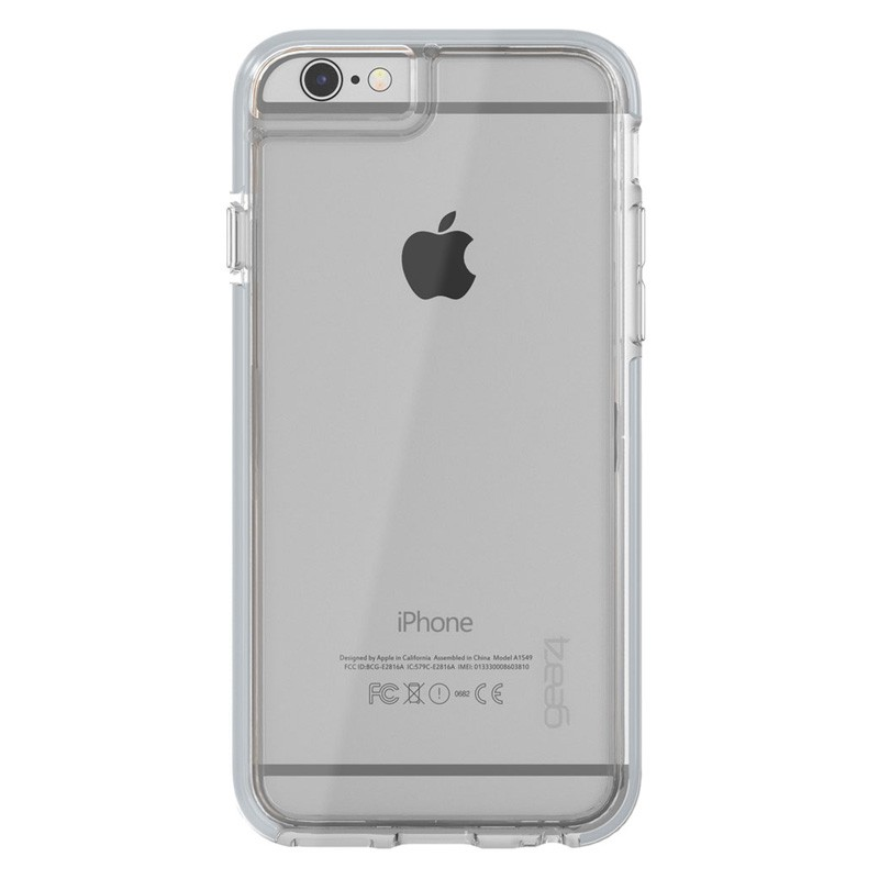 Gear4 3DO IceBox Tone iPhone 6 Plus / 6S Plus Silver/Clear - 3
