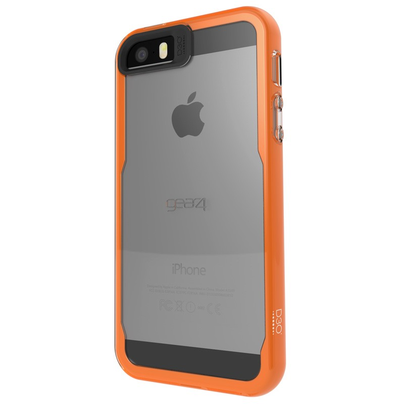 Gear4 3DO JumpSuit iPhone 6 / 6S Clear/Orange - 3