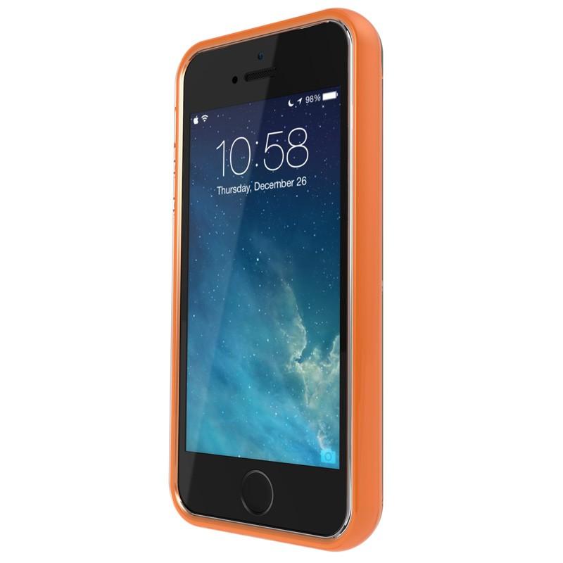 Gear4 3DO JumpSuit iPhone 6 / 6S Clear/Orange - 4