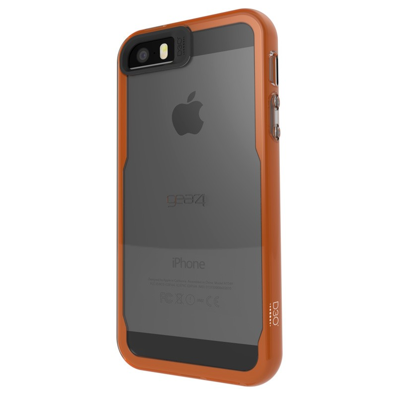 Gear4 3DO JumpSuit iPhone 6 / 6S Smoke/Orange - 3