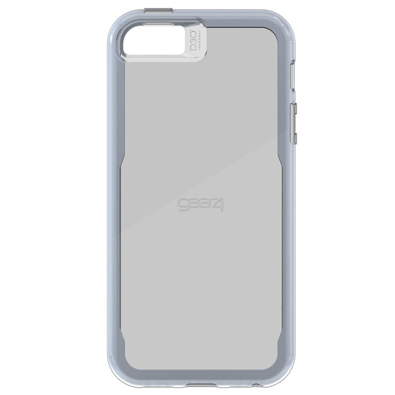 Gear4 3DO JumpSuit Tone iPhone SE/5S/5 Silver/Clear - 2