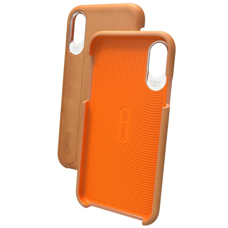 Gear4 Knightsbridge D3O iPhone X/Xs Hoes Brown - 4