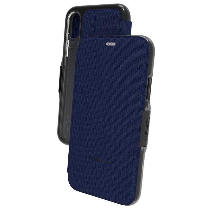 Gear4 - Oxford iPhone 8 Hoesje Blauw - 2