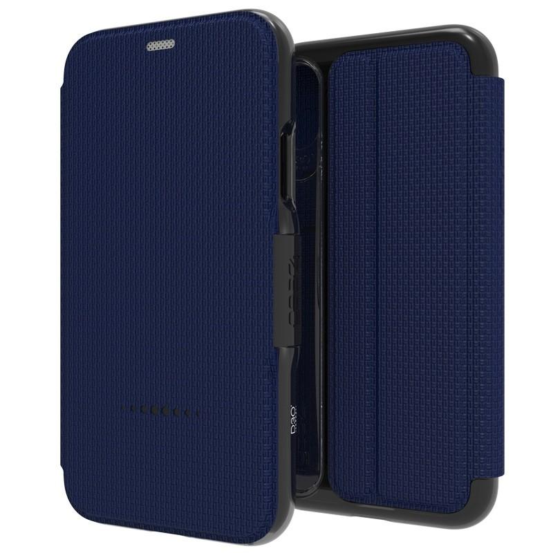 Gear4 - Oxford iPhone 8 Hoesje Blauw - 1